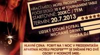 První letní větší turnaj 4P se bude konat 20. července 2013 v příjemném prostředí u hotelu Prosper v Čeladné,