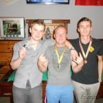 Z ľava: Franek, Šupej, Líška